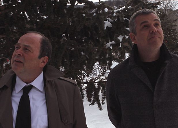 Danny Huston and Matthew Jacobs in Boxing Day (2012)
