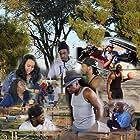 Richard Givens, Clarence Bradford, Shawn Reed, Courtney Burson, Margaret Newborn, Roxy Hart, Tony Doyle, Stanley Smith, Rodney Reddic, and Matthew Robinson in The Park (2017)