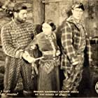 Maude George, William S. Hart, and Jack Hoxie in 'Blue Blazes' Rawden (1918)