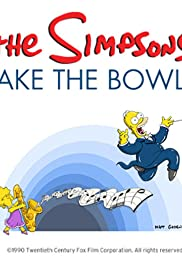 The Simpsons Take the Bowl Poster