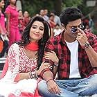 Dev and Sayantika Banerjee in Kelor Kirti (2016)