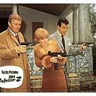 Letícia Román, Peter van Eyck, and Antonio Vilar in Comando de asesinos (1966)