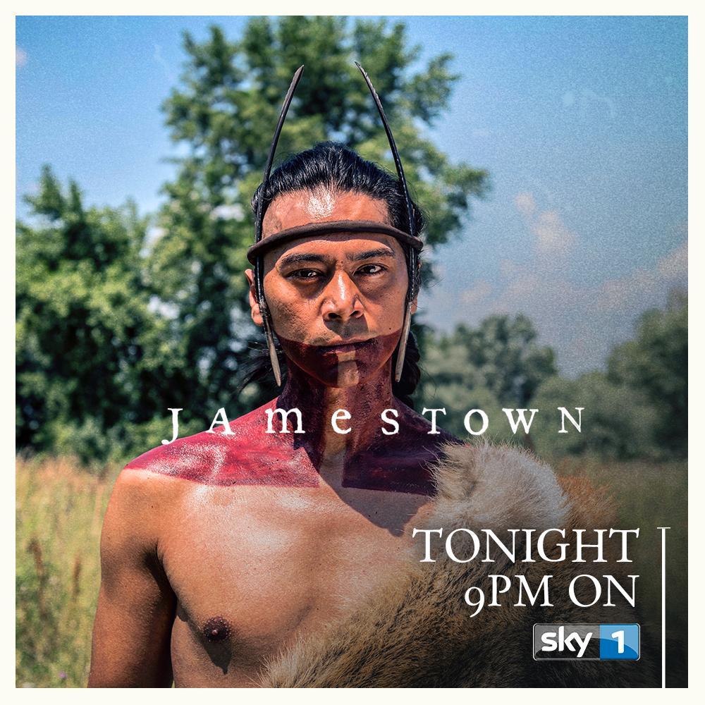 Kalani Queypo as Chacrow on Jamestown 2017