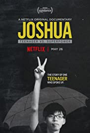 Joshua: Teenager vs. Superpower Poster