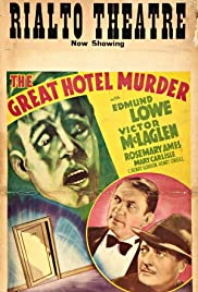 The Great Hotel Murder Poster