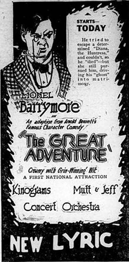 The Great Adventure (1921)