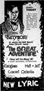 The Great Adventure (1921) Poster