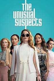 Miranda Otto, Lena Cruz, Heather Mitchell, Susana Downes, Michelle Vergara Moore, and Aina Dumlao in The Unusual Suspects (2021)