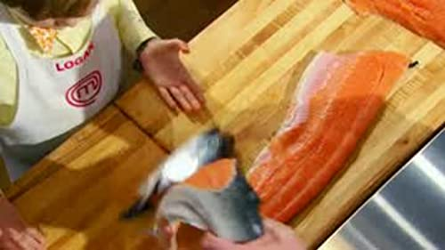 Masterchef Junior: That's A Lot Of Fish Wasted.