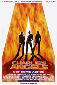 Drew Barrymore, Cameron Diaz, and Lucy Liu in Charlie's Angels (2000)