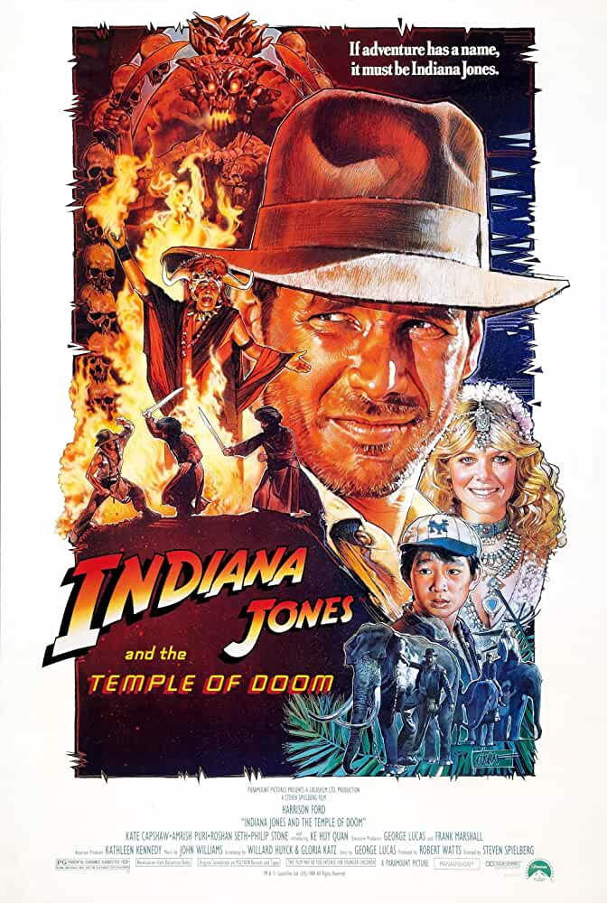 Indiana Jones and the Temple of Doom (1984) in Hindi