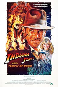 Harrison Ford, Kate Capshaw, Bhasker Patel, Amrish Puri, and Ke Huy Quan in Indiana Jones and the Temple of Doom (1984)