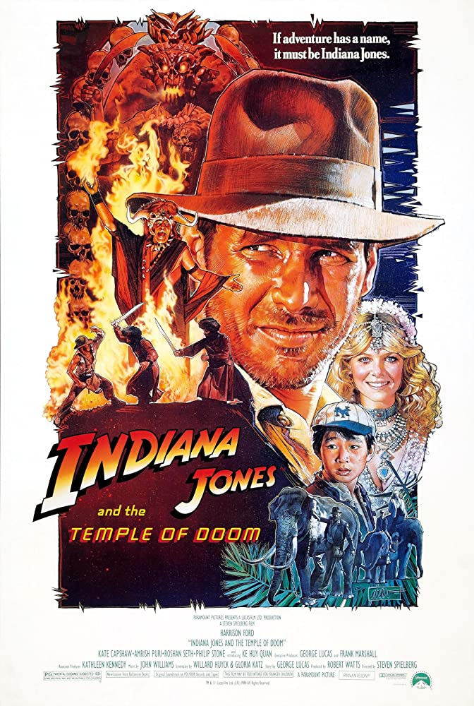 Indiana Jones And The Temple Of Doom 1984 Hindi Dual Audio ORG 400MB BluRay Download