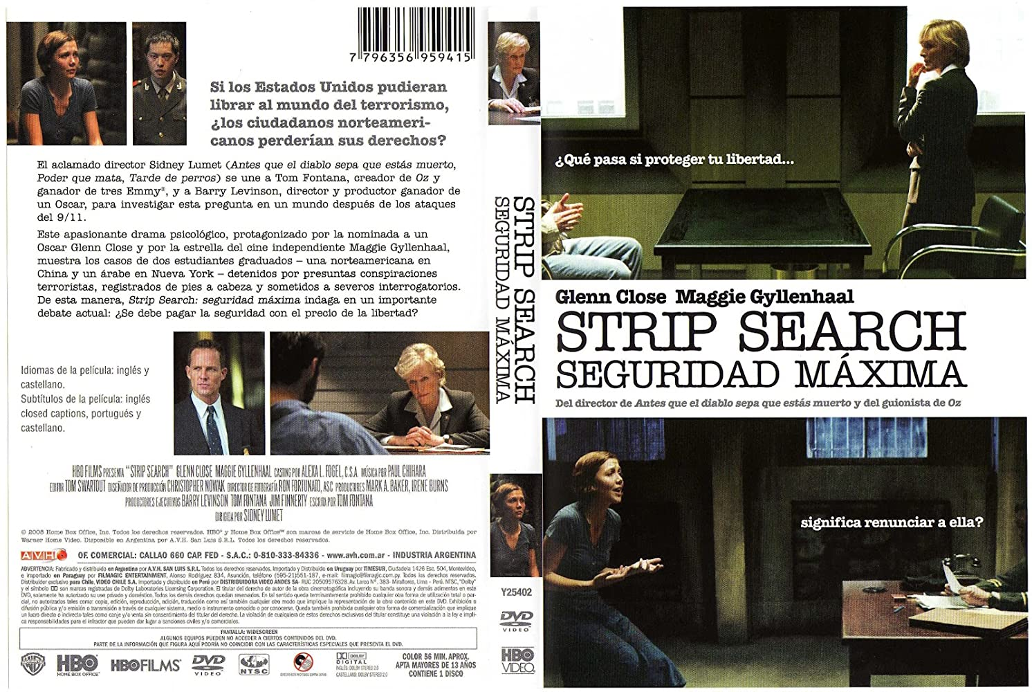strip search Hbo