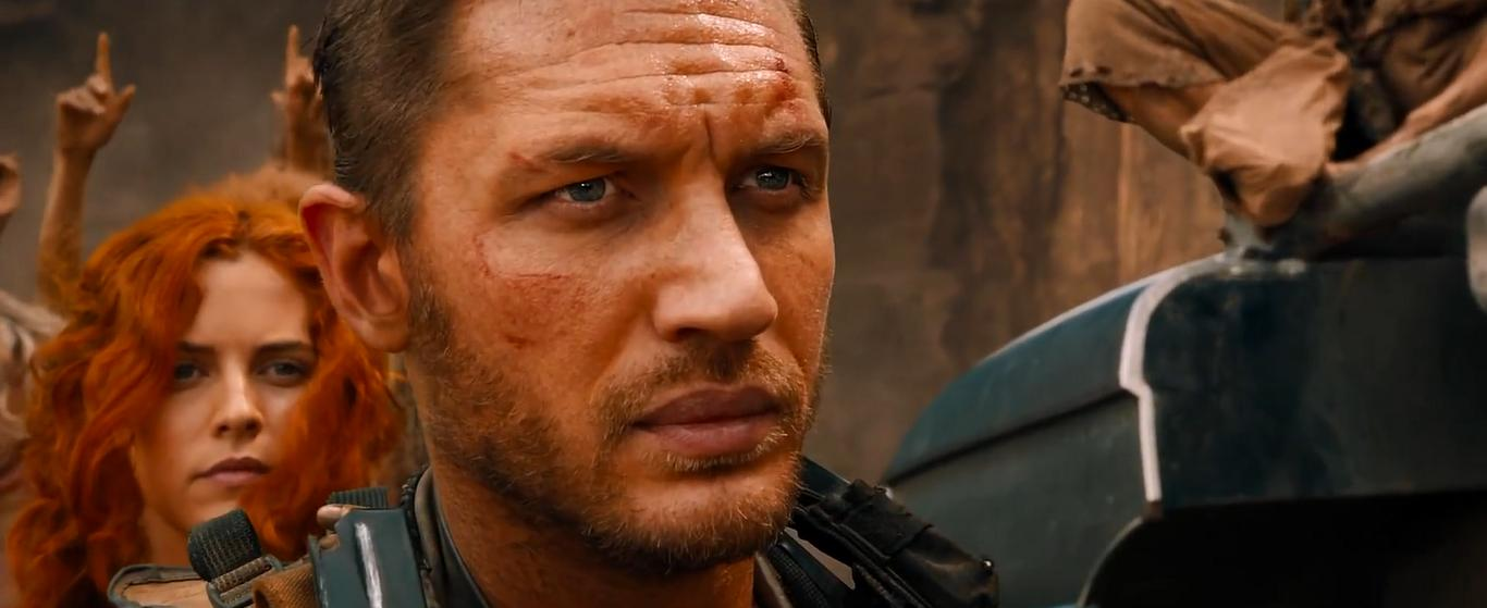 Tom Hardy and Riley Keough in Mad Max: Fury Road (2015)