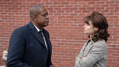 Forest Whitaker and Lucy Fry in Godfather of Harlem (2019)