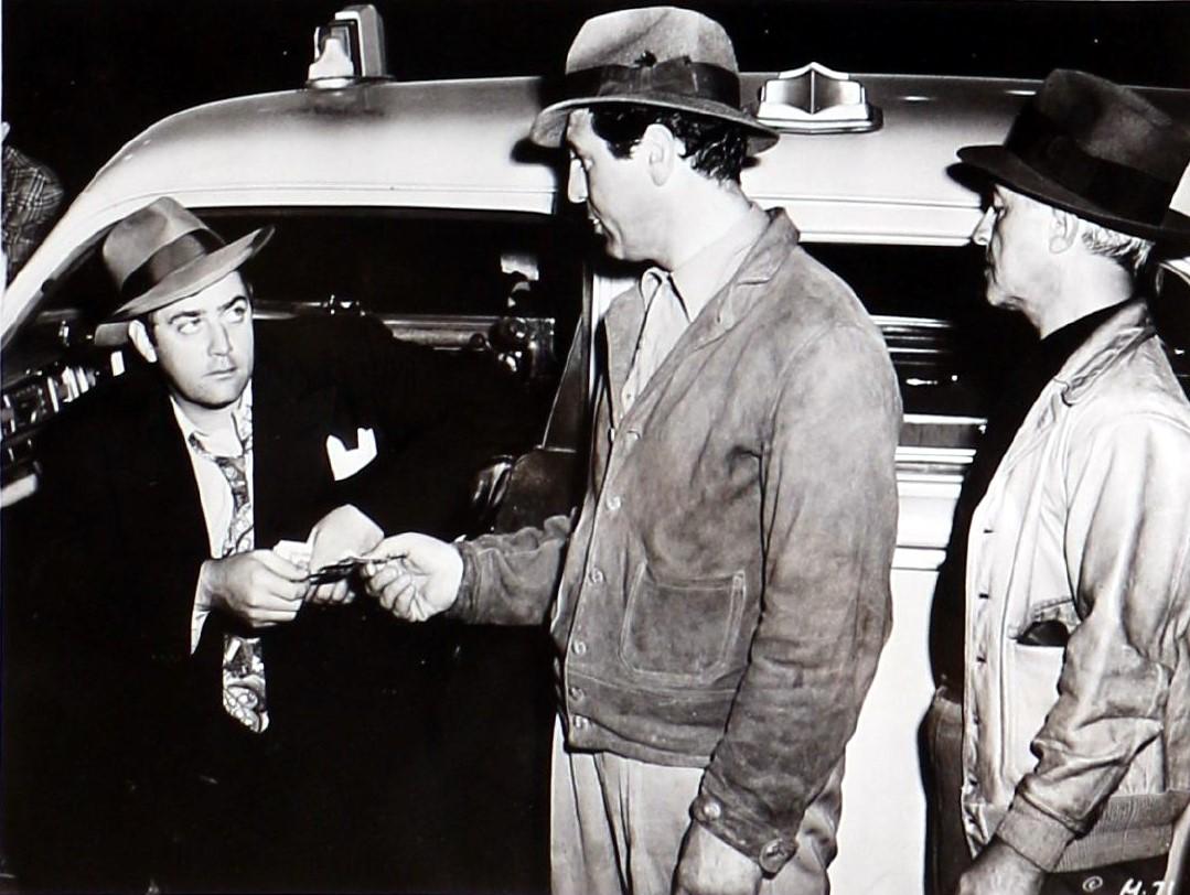 Raymond Burr in M (1951)