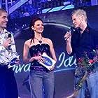 Predrag Suka and Nikolina Bozic in Hrvatski Idol (2004)
