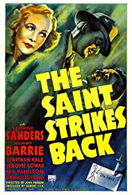 George Sanders and Wendy Barrie in The Saint Strikes Back (1939)
