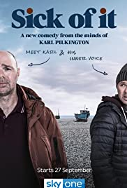 Image result for sick of it karl pilkington poster