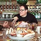 Robert Downey Jr., Jon Favreau, Joe Russo, Roy Choi, and Tom Holland in The Chef Show (2019)