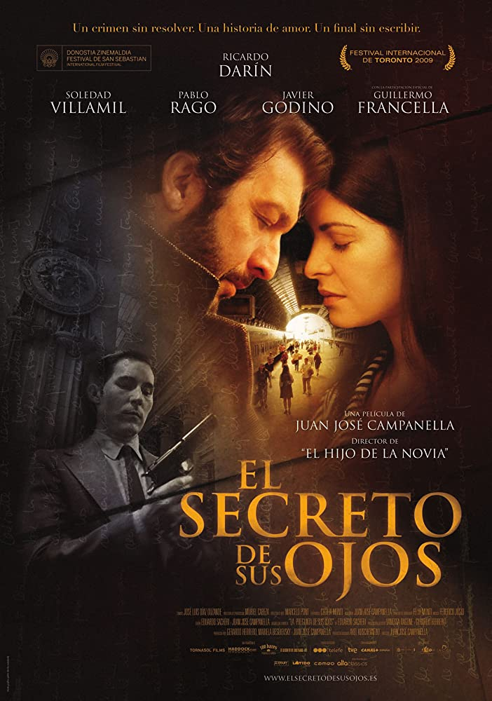 Ricardo Darín, Soledad Villamil, and Javier Godino in El secreto de sus ojos (2009)