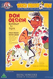 Don Olsen kommer til byen (1964) Poster - Movie Forum, Cast, Reviews