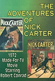 Adventures of Nick Carter (1972) starring Robert Conrad on DVD on DVD