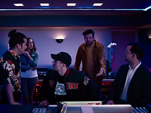 James Van Der Beek, Bobby Lee, Dora Madison, Michael Croner, and Dillon Francis in What Would Diplo Do? (2017)