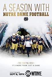 A Season with Notre Dame Football Poster