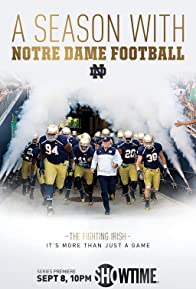Primary photo for A Season with Notre Dame Football