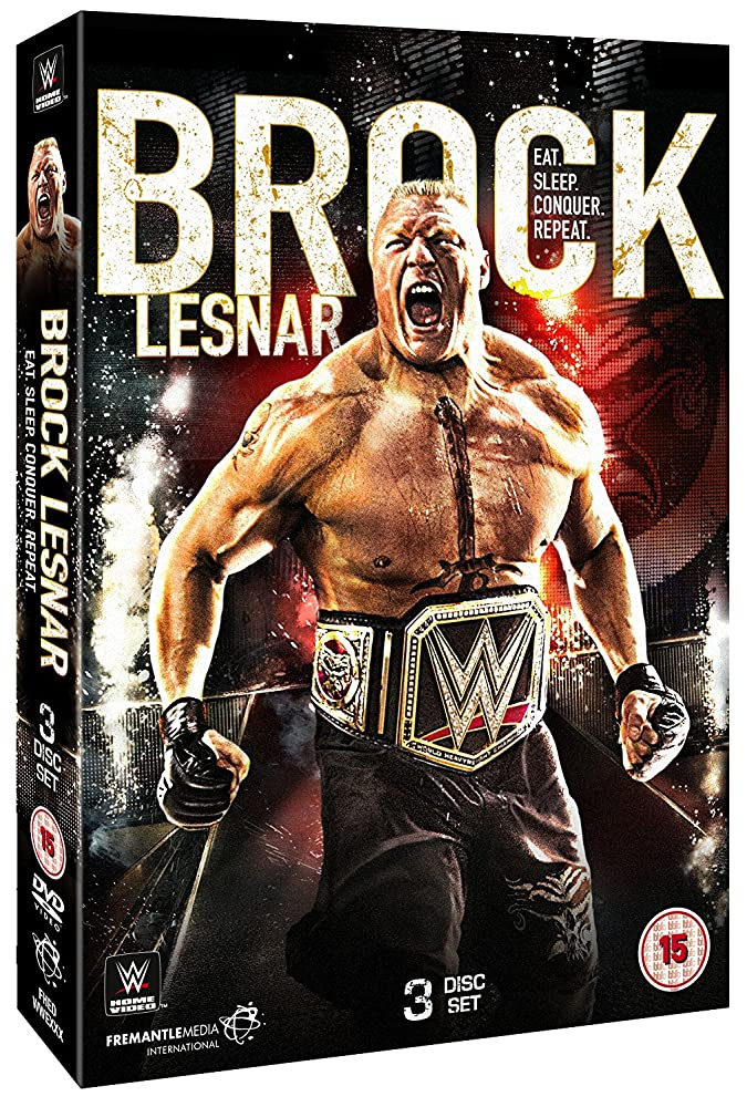 WWE Brock Lesnar Eat Sleep Conquer Repeat 2016
