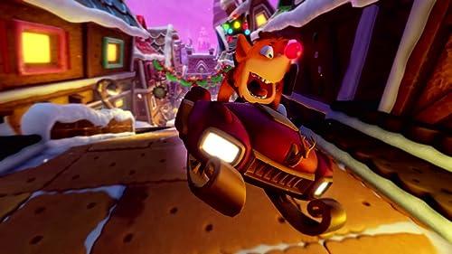 Crash Team Racing Nitro-Fueled: Winter Festival Grand Prix Trailer (PS4)