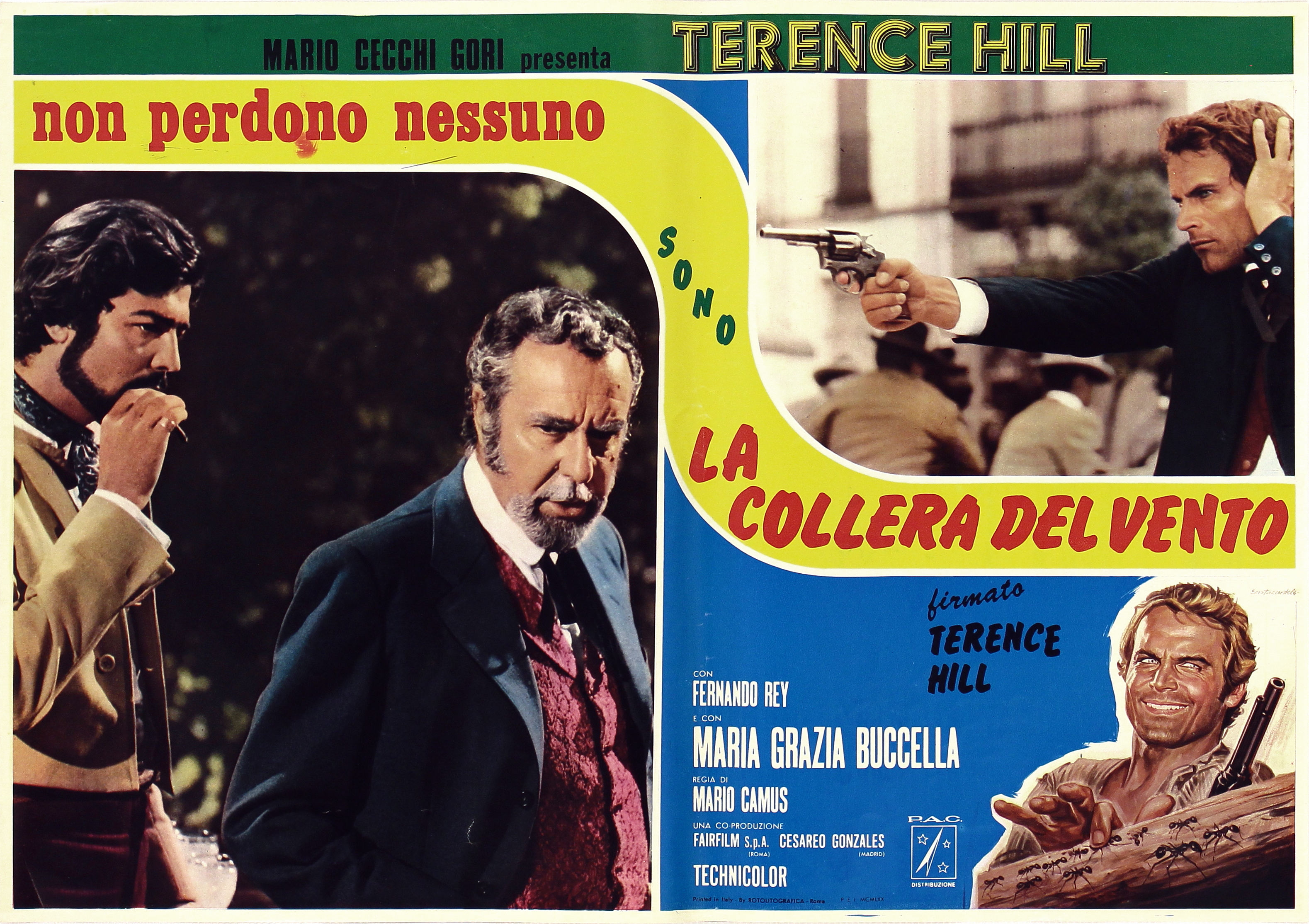 Terence Hill and Fernando Rey in La collera del vento (1970)