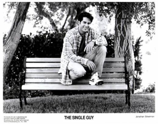 Jonathan Silverman in The Single Guy (1995)