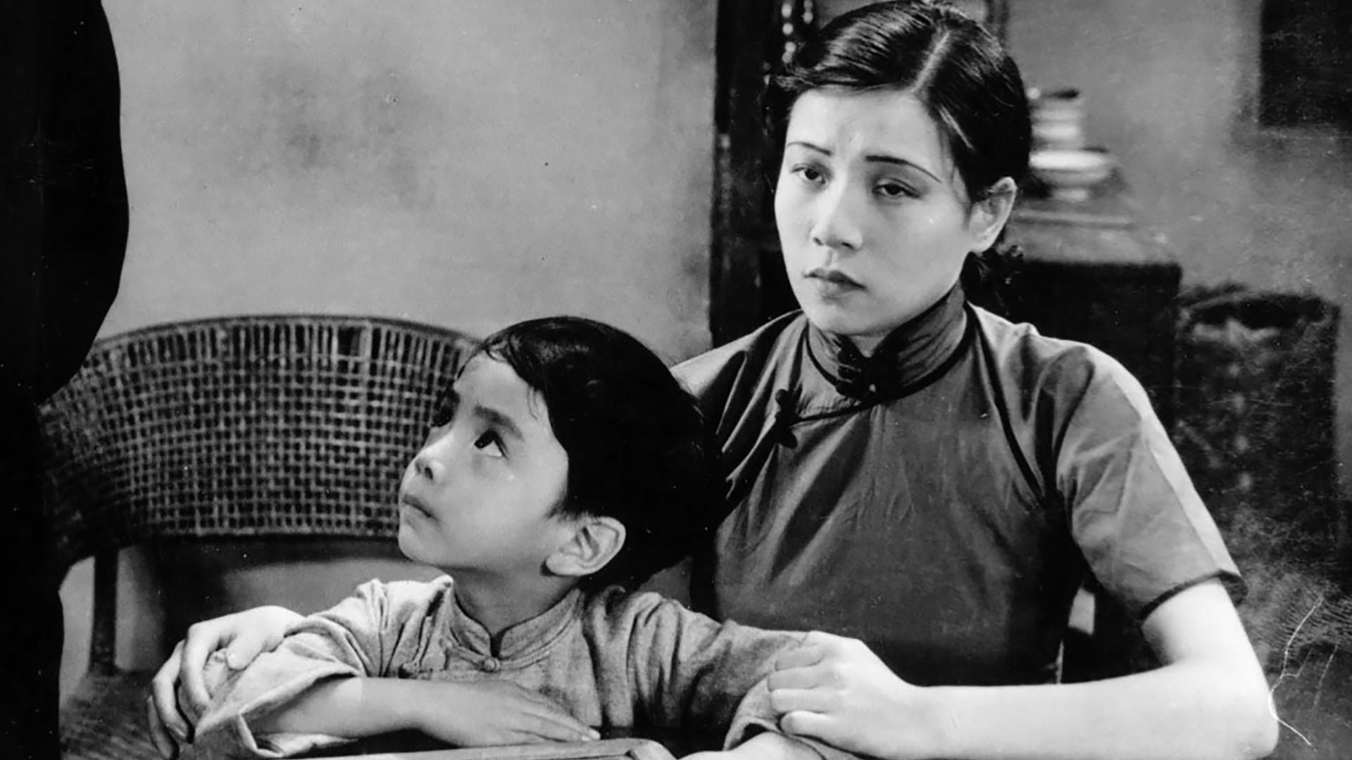 Lingyu Ruan and Keng Li in Shen nu (1934)