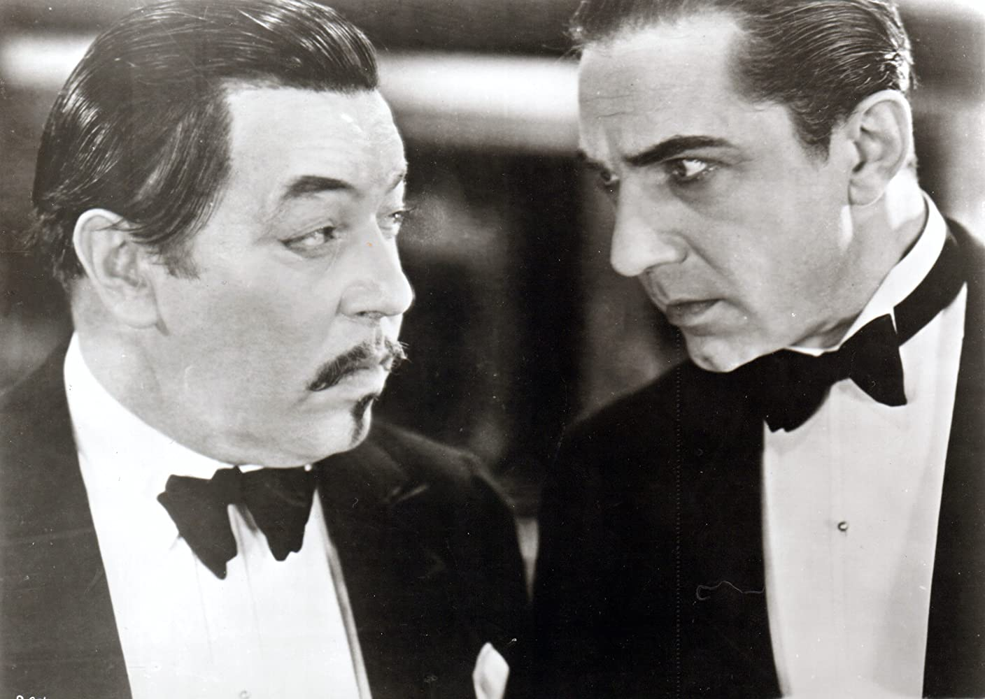 Bela Lugosi and Warner Oland in The Black Camel (1931)