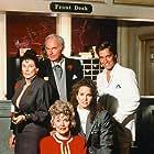 Cloris Leachman, Molly Hagan, Harvey Korman, Brian McNamara, and Jeanette Nolan in The Nutt House (1989)