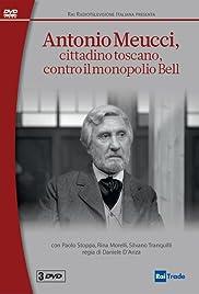 Antonio Meucci cittadino toscano contro il monopolio Bell Poster