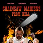 Kane Hodder and Sarah French in Chainsaw Maidens (2016)