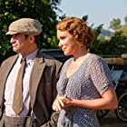 Keeley Hawes and Alexis Georgoulis in The Durrells (2016)