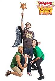 Drunk Hawk Man Poster