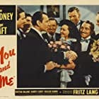 Robert Cummings, Joe Gray, Roscoe Karns, Jack Pennick, George Raft, Sylvia Sidney, and George E. Stone in You and Me (1938)