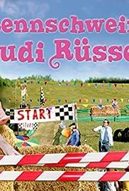 Rudi the Racing Pig Poster