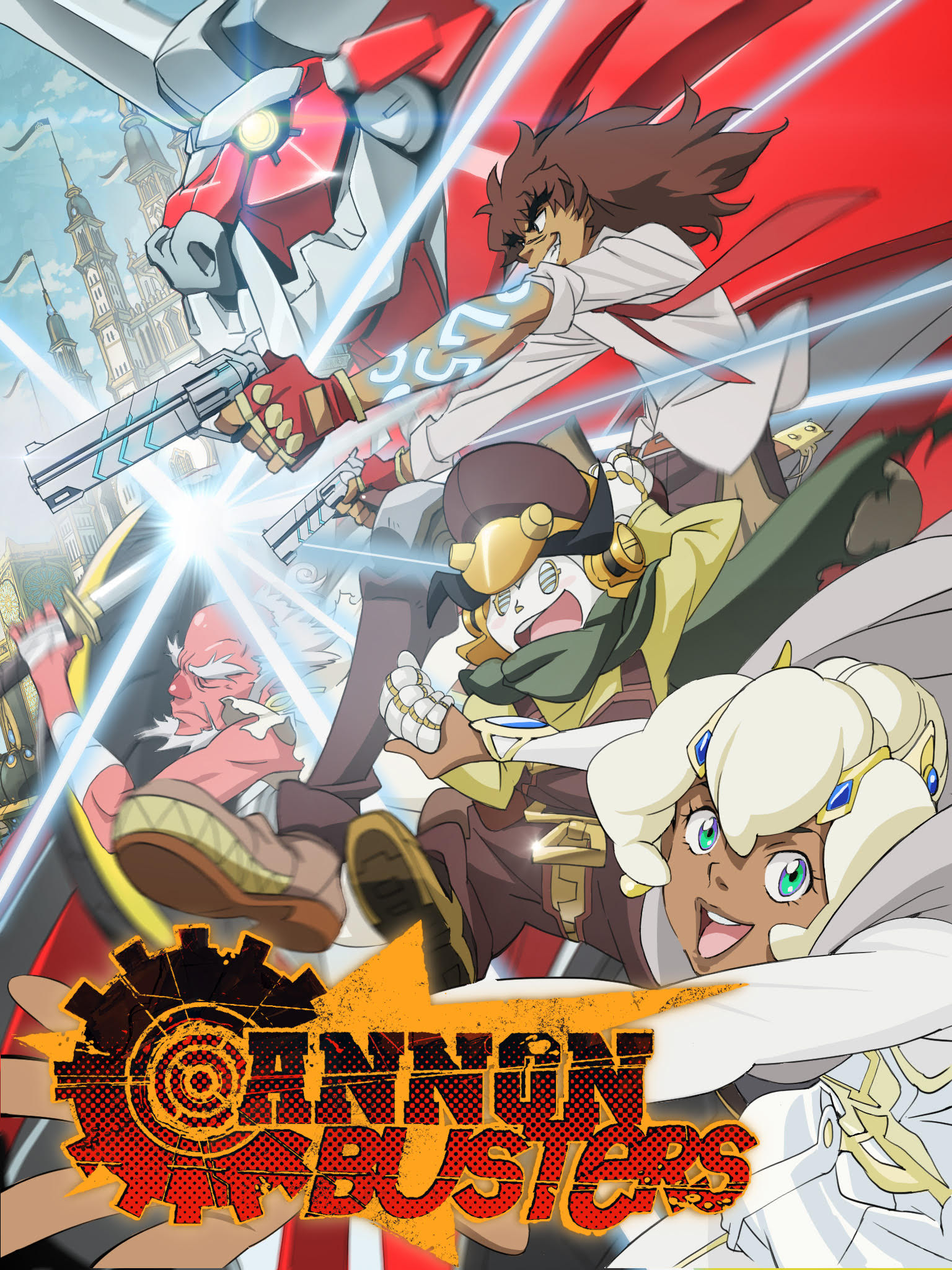 Cannon Busters (TV Series 2019– ) - IMDb