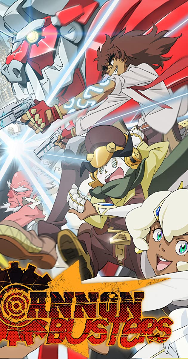 Download Cannon Busters or watch streaming online complete episodes of  Season1 in HD 720p 1080p using torrent