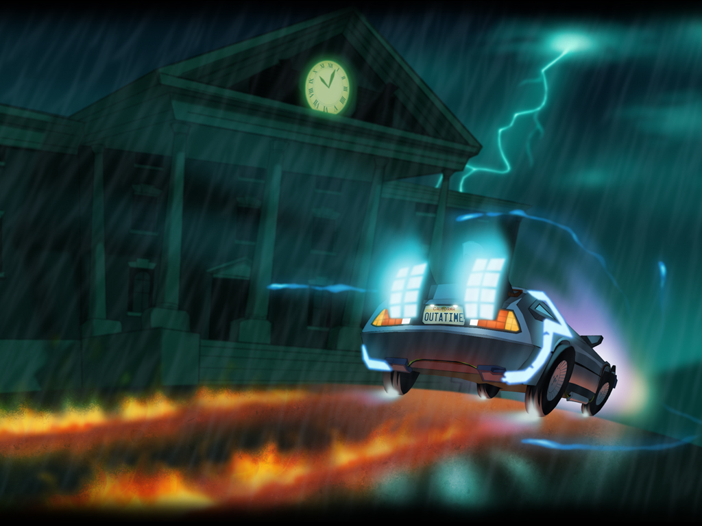 Back to the Future: The Game - Episode 5, Outatime (Video