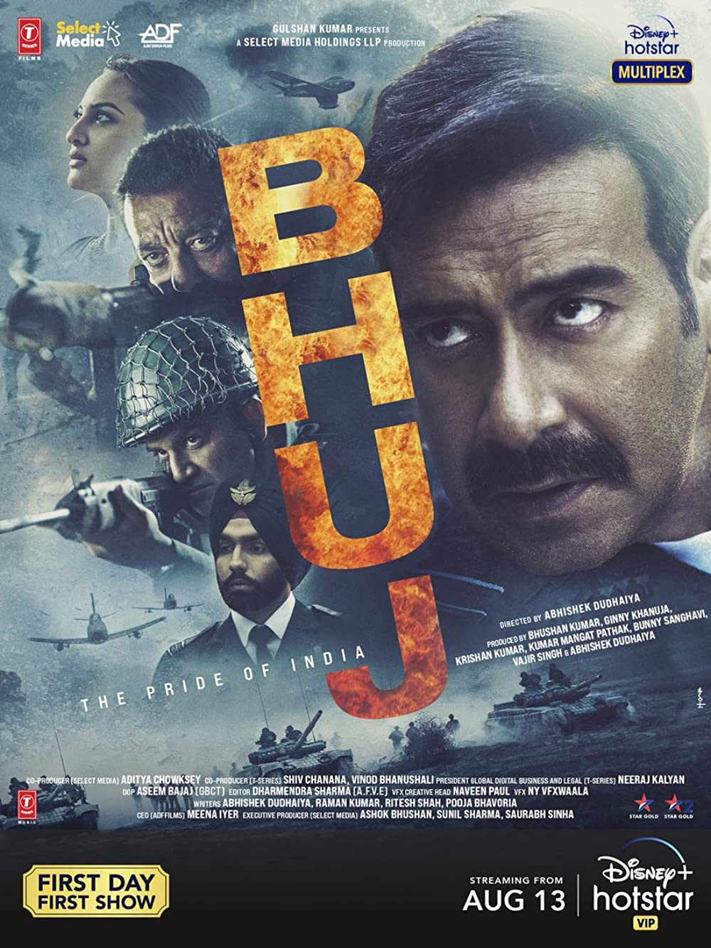 Bhuj The Pride Of India Hindi Movie 2021 Official Trailer 1080p HDRip Download