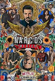 Diego Luna, José María Yazpik, Scoot McNairy, Fernanda Urrejola, Teresa Ruiz, and Alejandro Edda in Narcos: México (2018)