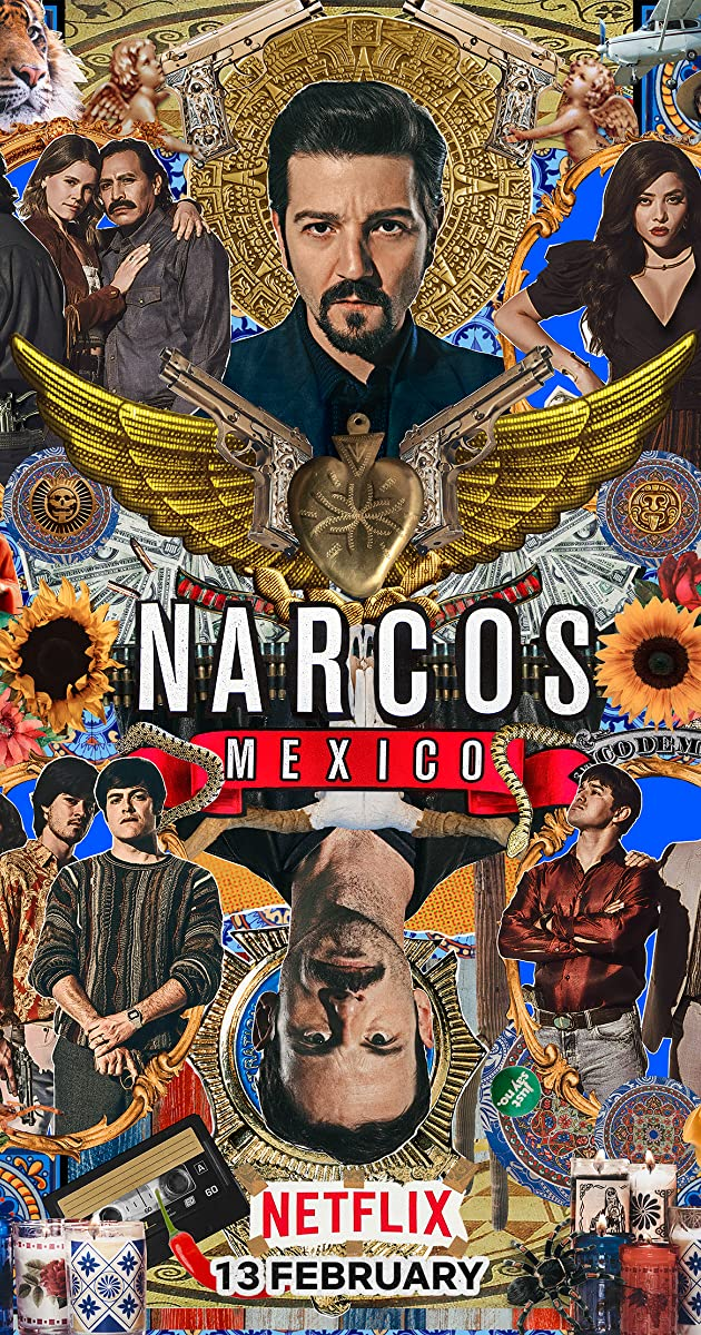 Download Narcos: Mexico or watch streaming online complete episodes of  Season 2 in HD 720p 1080p using torrent
